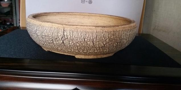 Round cracked 23cm